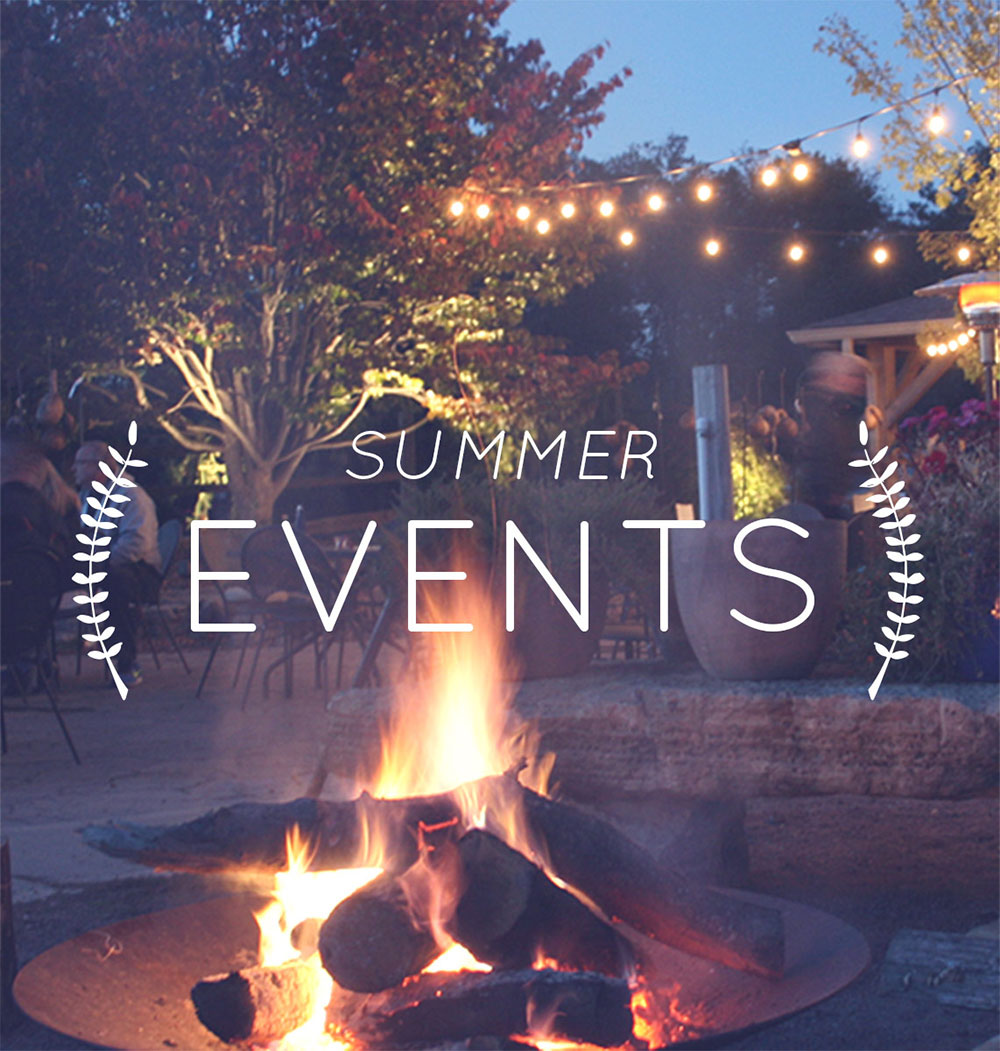 Photo of a bonfire and party at Frisella Nursery