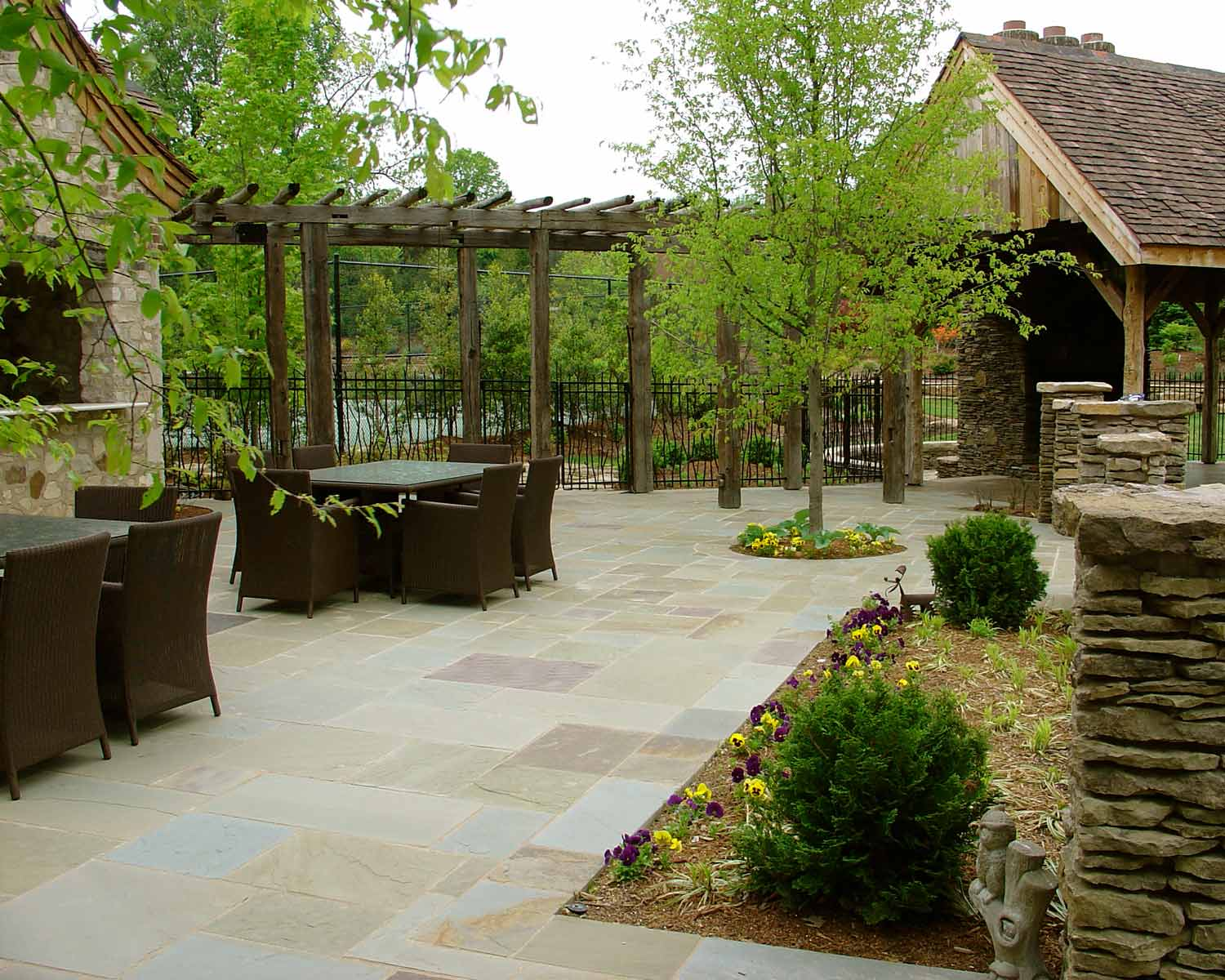 Patio Outdoor Dining Landscape