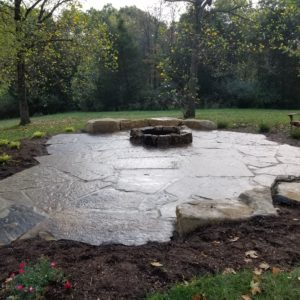 Flagstone patio 2 St. Louis