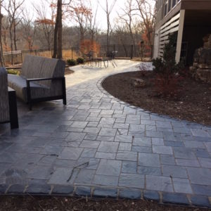 Custom Paver patio St. Louis