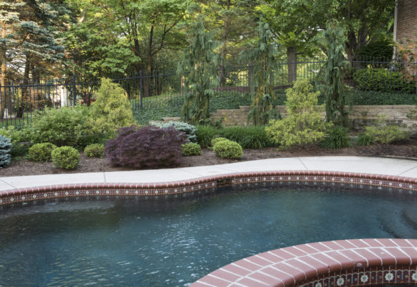 Town and Country Missouri landscape pool design