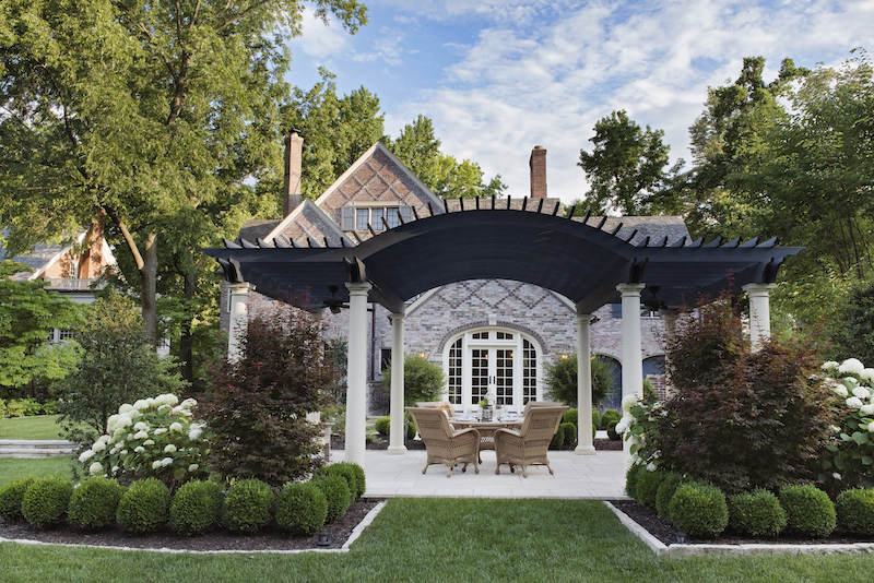 Formal Landscape Design St. Louis, Missouri4