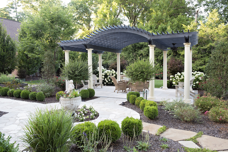Formal Landscape Design St. Louis, Missouri5