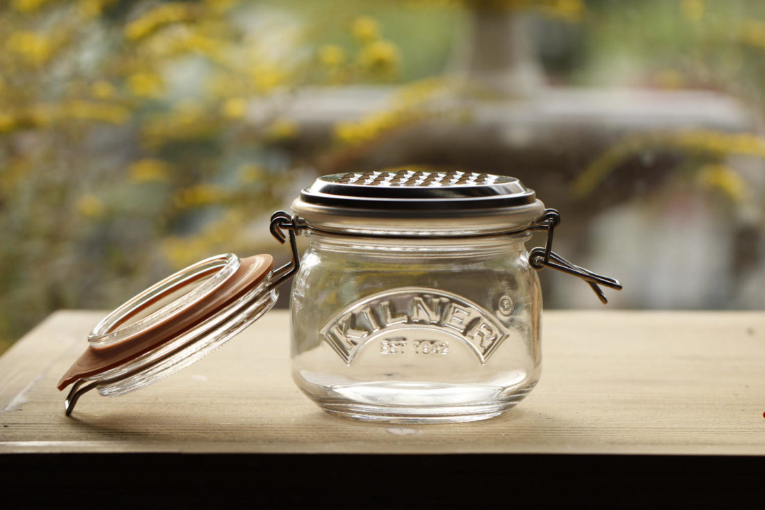 Photo of the Kilner grater jar set
