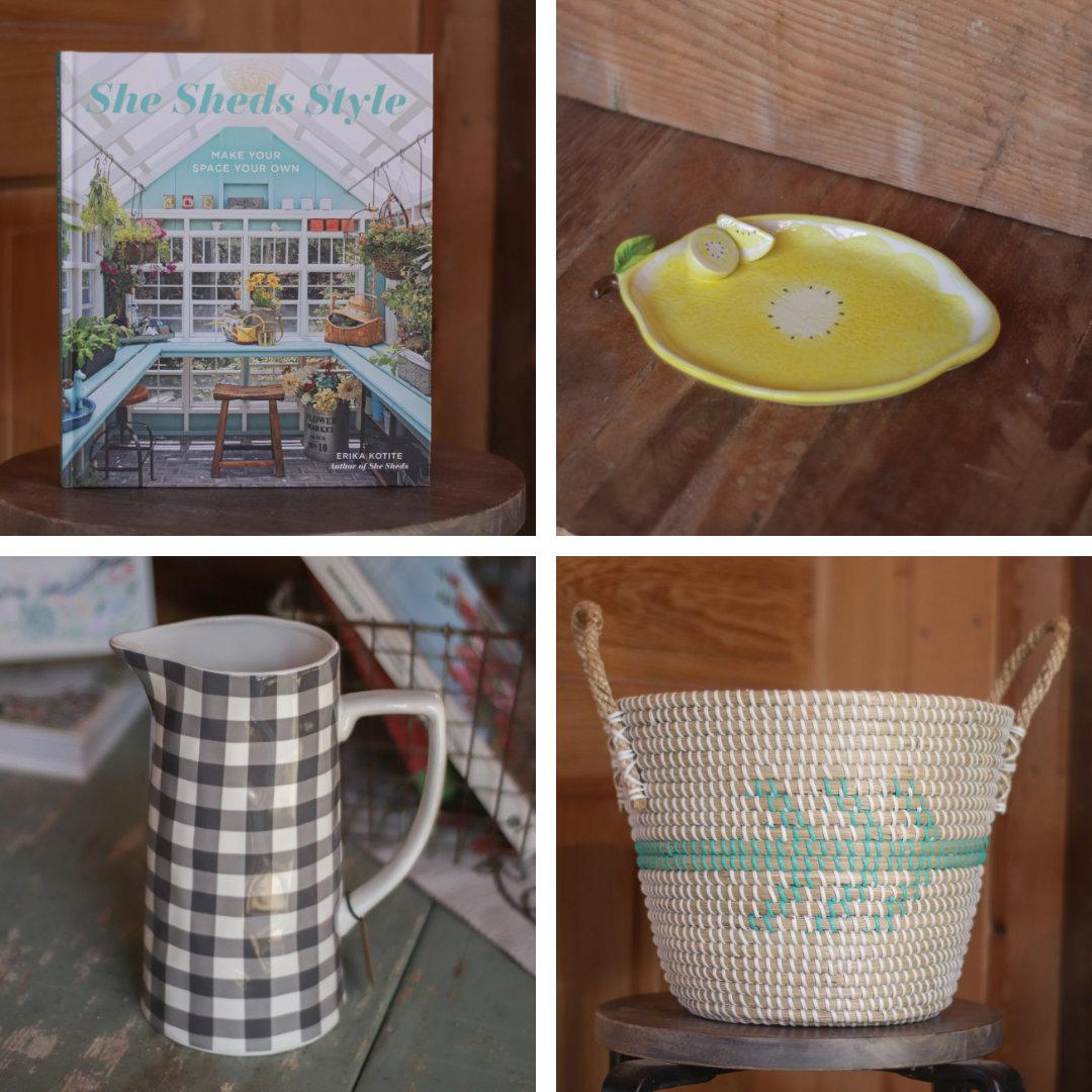 Frisella Nursery shop image collage